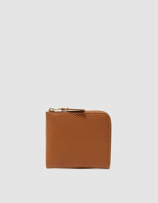 Comme des Garcons Women's Luxury Leather Line SA3100LG Wallet in Beige