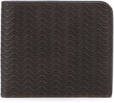 Zanellato wave embossed bifold wallet - men - Leather - One Size