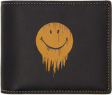 Coach 1941 Black Baseman Edition Gnarly Face Three-in-one Wallet