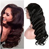 """Friya Hair 8A Brazilian Full Lace Human Hair Wigs Body Wave Lace Front Human Hair Wigs Pre Plucked Hairline With Baby Hair 8-26 Virgin Hair Wigs For Black Women (26"""" 180% Density Full Lace Wigs)"""