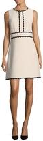 Kate Spade Women's Scallop Tweed Dress