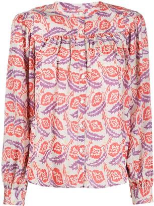 Isabel Marant Leaf-Print Shirt