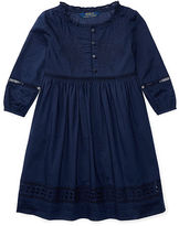 Ralph Lauren 2-6X Eyelet Cotton Voile Dress