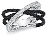 Alor Diamond Multi-Band Cable Ring