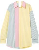 Marni Oversized Striped Cotton-poplin Shirt