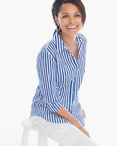 Chico's Fun Stripe Shirt