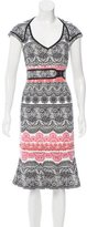 Karen Millen Printed Midi Dress