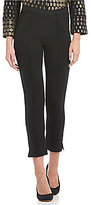 IC Collection Front V-Waistline Pull-On Pants