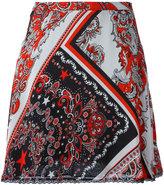 Just Cavalli paisley patterned skirt