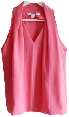 Diane von Furstenberg Pink Top for Women