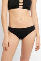 Bikini Lab Solid Black Hipster Bikini Bottom