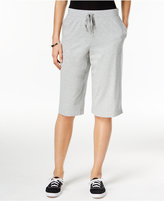 Karen Scott Pull-On Active Bermuda Shorts, Only at Macy's