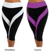 Fajate Women's 'Sol' Fitness Capri Leggings