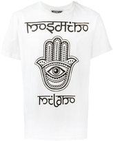 Moschino hamsa hand T-shirt - men - Cotton - XL