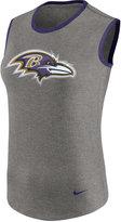 Nike Women's Baltimore Ravens Standard Tri Tank