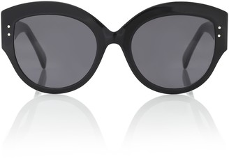 Alaia Cat-eye acetate sunglasses