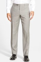 Ted Baker Men's Jefferson Flat Front Wool Trousers