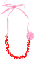 J.Crew Girls' bauble necklace with flower