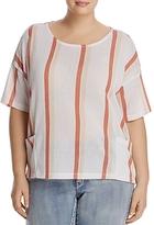 Junarose Stripe Knit Sweater