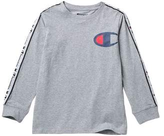 Champion Long Sleeve Tee with Taping (Big Boys)
