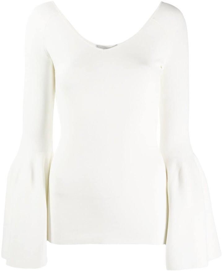 Stella McCartney Bell Sleeve Knitted Top