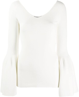 Stella McCartney Bell Sleeve Knitted Top