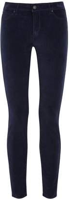 Articles of Society Mya Navy Skinny Velvet Jeans