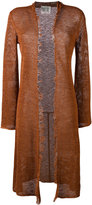 Forte Forte mesh cardigan - women - Cotton/Linen/Flax - 0