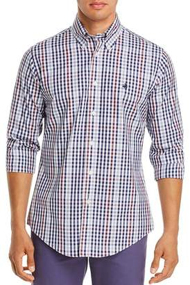 Brooks Brothers Pin Point Check-Print Classic Fit Button-Down Shirt
