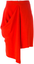 Stella McCartney draped skirt - women - Spandex/Elastane/Acetate/Viscose - 40