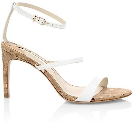 Sophia Webster Rosalind Cork & Leather Sandals