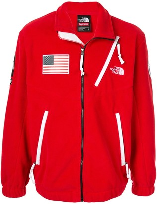 Supreme x The North Face Expedition Trans Antarctic fleece jacket