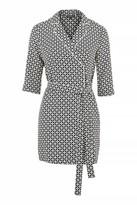 Topshop Geometric Tile Pyjama Shirtdress