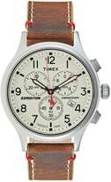 Timex Chronograph Watch Brown