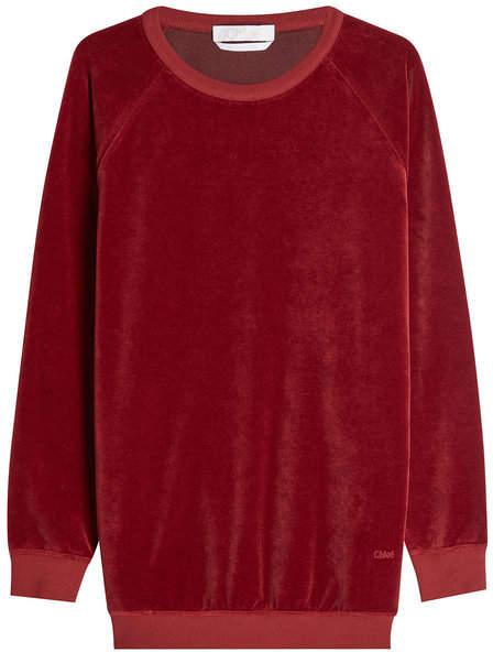Chloé Velvet Sweatshirt