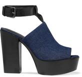 Rebecca Minkoff Cece denim platform sandals