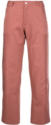 Nomia High-Waist Cropped Trousers