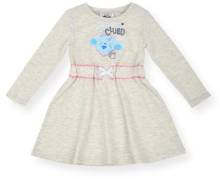 Blue's Clues & You Blues Clues Toddler Girl Long Sleeve Dress