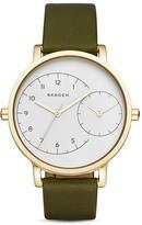 Skagen Hagen Dual-Time Watch, 36mm