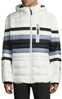 Bogner Flynn-D Striped Regular Fit Jacket