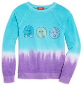 Butter Shoes Girls' Dip-Dye Emoji Top - Big Kid