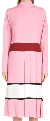 Marni Colour Block Midi Dress