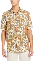 Margaritaville Men's Short Sleeve Starfish Print BBQ Shirt