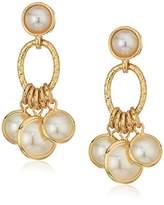 Anne Klein Shaky Post Drop Earrings