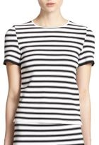 A.L.C. Dale Striped Crossover Top