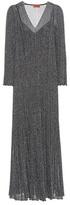 Missoni Knitted metallic dress