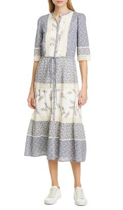 Rebecca Taylor Woodblock Lace Dress