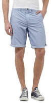 Red Herring Light Blue Striped Chino Shorts