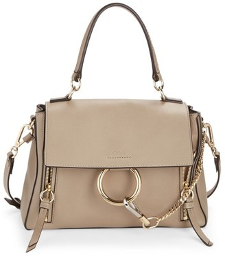 Chloé Small Faye Leather Satchel