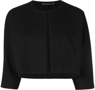 Josie Natori Cropped Jacket